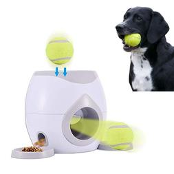 Pet Dog  Automatic Tennis Ball Launcher,2 in 1 Interactive T