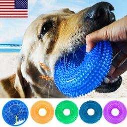 Pet Dog Dental Teething Chew Toy Durable Bite TPR Toy Resist