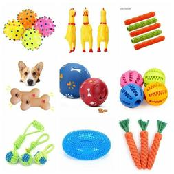 Pet Dog Puzzle Toy Tough-Treat Ball Food Dispenser Interacti