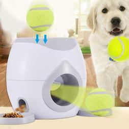 Pet Dog Tennis Ball Launcher Thrower Toy Automatic Interacti
