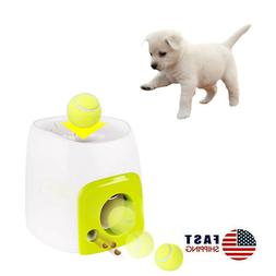 Pet Dog Toy Interactive Training Feeding Thrower Automatic L