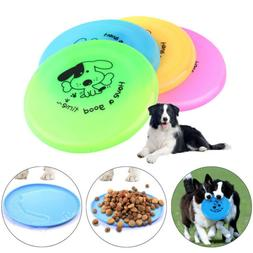 Pet Dog Toys Exercise Frisbee Toy Training Tool PVC Puppy Do