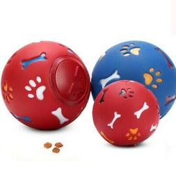 Pet Dog Puzzle Toy Tough-Treat Ball Food Dispenser Interacti