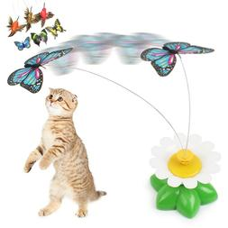 Pet <font><b>Toy</b></font> Cat Electric 360 Rotating Scratc
