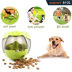 Pet Food Ball,Fihome Funny Tumbler IQ Treat Toys Ball Intera