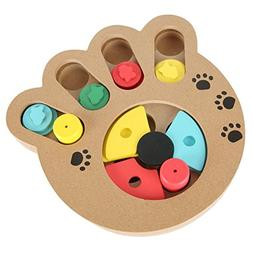 Cuteshower Pet Intelligence Toy Interactive Food Treated Woo