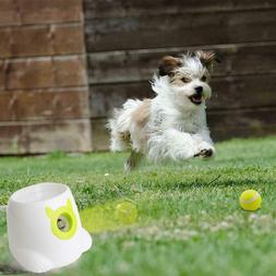 Pet Interactive Ball Launcher Small Dog Toys Hyper Fetch Tra