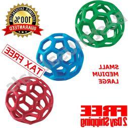 Pet JW Holee Roller BALL Toy Dog Chew Treat Fetch Large Medi