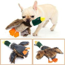 Pet Puppy Chew Squeaker Squeaky Sound Plush Duck Chicken Toy