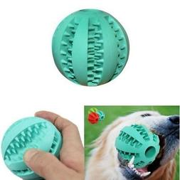 pet puppy dog ball chew teething treat