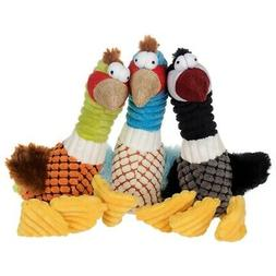 Pet Puppy Dog Toys Funny Bird Small Dogs Chew Squeak Corn Gr