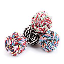 Agordo Pet Puppy Dogs Knots Strengthen Teeth Rope Cottons Ch