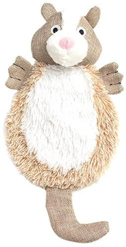 "Pet Rageous Critterrageous Chip The Chipmunk Dog Toy, 15.5"","