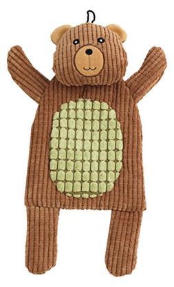 "Pet Rageous Forestrageous Bear Dog Toy, 12.5"", Brown"