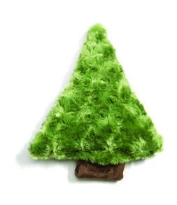 West Paw Design Piney Holiday Squeak Toy for Dogs, Green