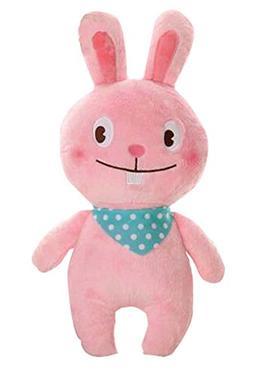 PANDA SUPERSTORE Pink Rabbit Stuffed Soft Plush Toys Creativ