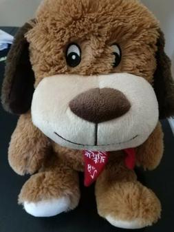 PLUSH Petsmart CHANCE Brown Puppy Dog Play Squeaker Stuffed