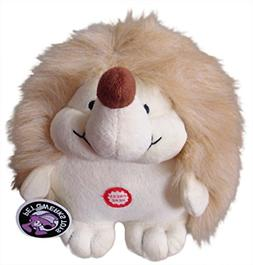 Plush Hedgehog Interactive Dog Toy with Cute Chattering Elec