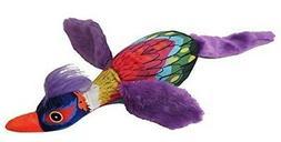 Plush Mardi Gras Bird Dog Toy 19-