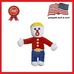 Multipet Plush Mr Bill Talking Squeak Toy When Squeezed For