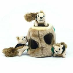 Outward Hound Plush Puppies HIDE A SQUIRREL Dog Puzzle Toy S