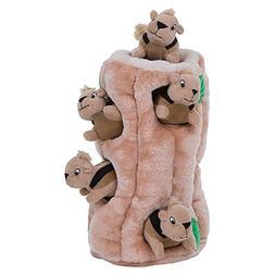 Outward Hound Plush Puppies HIDE A SQUIRREL Dog Puzzle Solvi