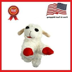 Multipet Plush With Lamb Chop Squeak Toy For Dogs And Puppie