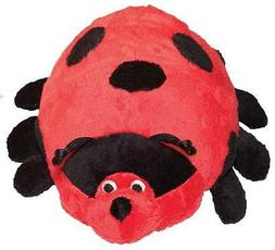 Patchwork Pet Pond Hoppers Ladybug 14-Inch Squeak Toy for Do