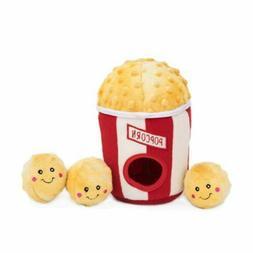 ZippyPaws  Popcorn Bucket Burrow, Dog Toy