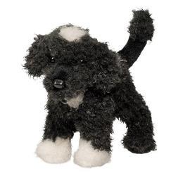 "Portuguese Water Dog Stuffed Animal 8"""