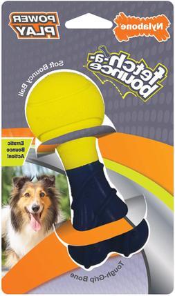 Nylabone Power Play Fetch-A-Bounce Soft Bouncy Ball Dog Toy