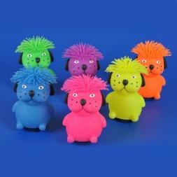 "Rhode Island Novelty 6"" Hairdo Dog Puffer Toy Activity and P"