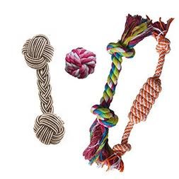 Puppy Chew Teething Rope Toys Set Mini Dental Pack For Small