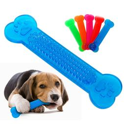 Puppy Dog Chew Toys Rubber Bone For Aggressive Chewers Dogs