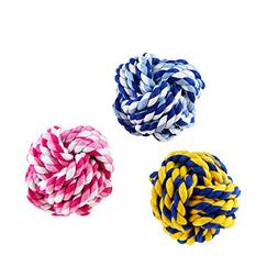 BBDOGO Puppy Dog Pets Rope Chew Teeth Cleanning Toys For Sma