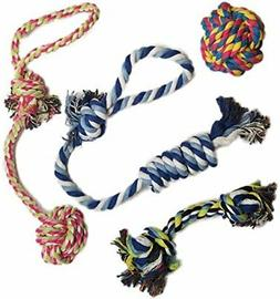 puppy dog rope toys dogs