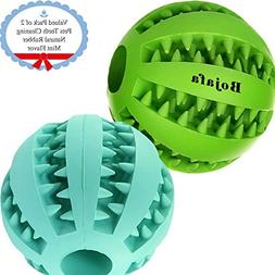 Bojafa Puppy Small Medium Dog Toys Balls  Rubber Durable Tou