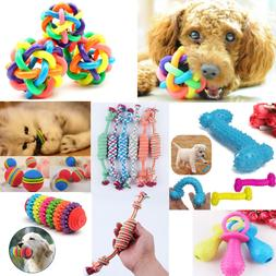 Puppy Pet Dog Colorful Dental Teething Healthy Teeth Chew Tr