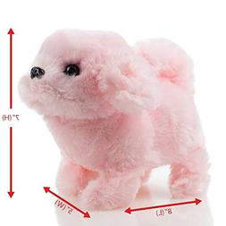 Toysery Puppy Plush Dog Toy for Kids - Puppy Toy, Walks, Bar