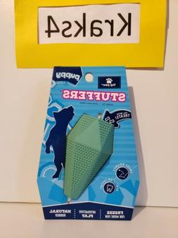 Top Paw Puppy Stuffers Dog Toy Natural Rubber Toy Fill W/Tre