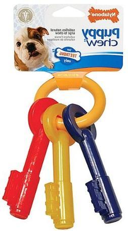 Nylabone Puppy Teething Keys X-Small 6 pk