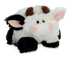 goDog Puppy Tough Ball Cow Dog Toy with Chew Guard Technolog