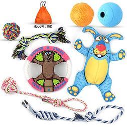 Mothca Puppy Toys  Dog Chew Toys for Small & Medium Aggressi