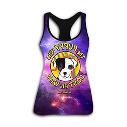 Martha S. Jhonson The Puppy Who Lost His Way Women's Sport T