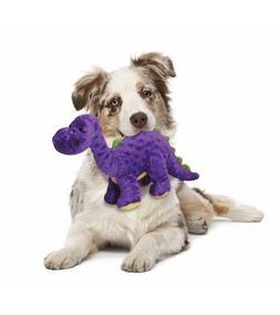 GoDog Purple Bruto Dog Toys, Choose from three sizes: Mini,