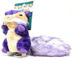 ZippyPaws Purple Chipmunk Squeaky Plush Dog Toy