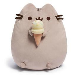 Pusheen the Cat 9 Plush Pusheen with Ice Cream Cone