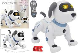 Remote Control Dog, Robot Toys for Kids, RC Robotic Stunt Pu