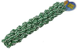 Amazing Pet Products Retriever Rope Dog Toy, 12.5-Inch, Gree