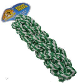 Amazing Pet Products Retriever Rope Dog Toy, 7.5-Inch, Green